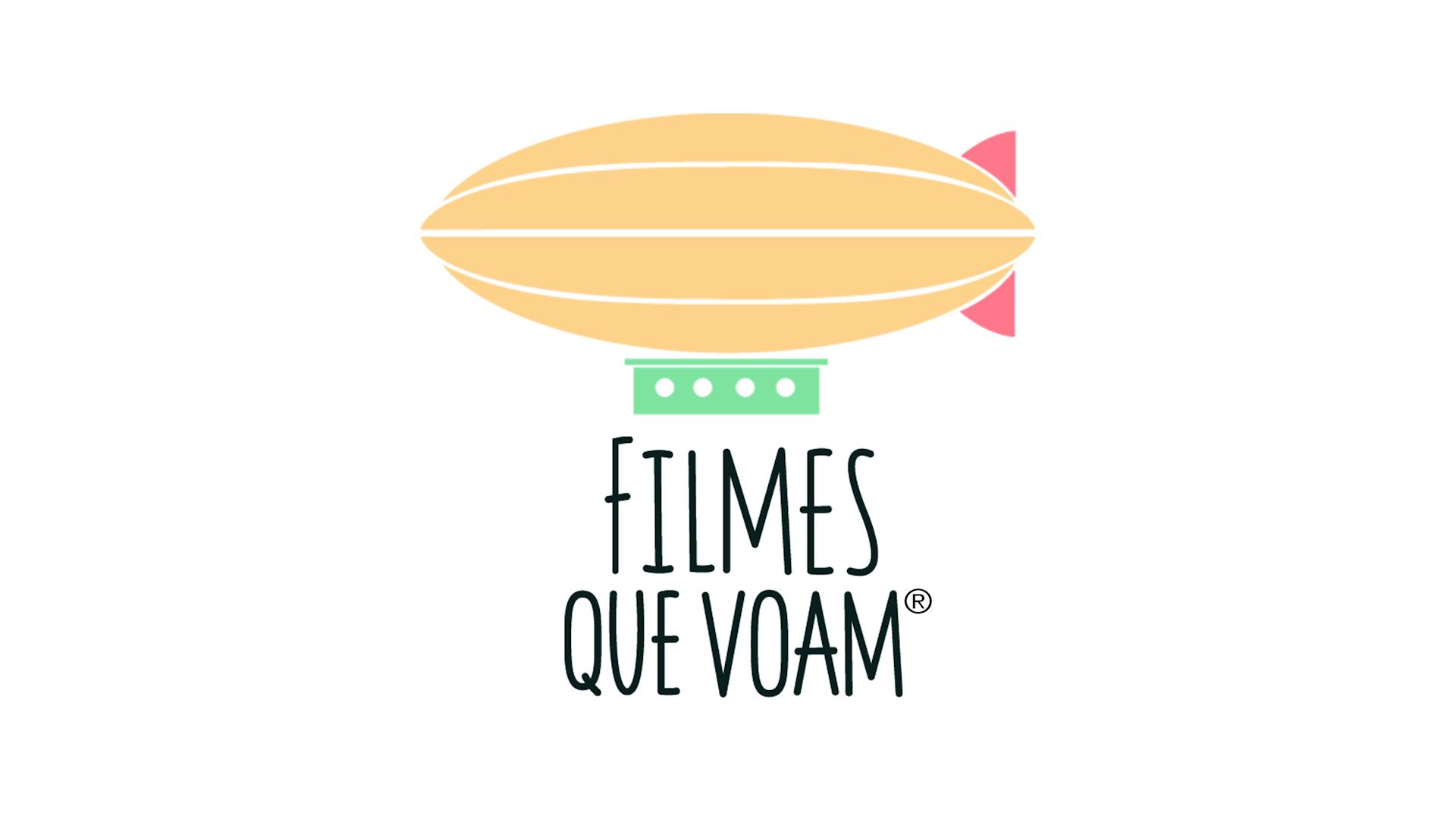 logotipo filmes que voam