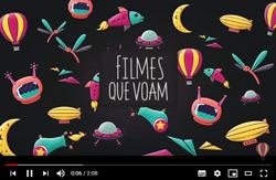 Imagem da Filmes Que Voam com Link Para Canal do Youtube